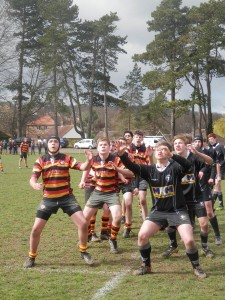 Lineout v Deal in Plate Final