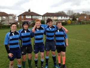 Owen Church-Mills, Rory Gilles-Jones, Ross Bryan, Jo Whitby and Max Wright