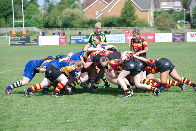ARFC Ladies Scrum